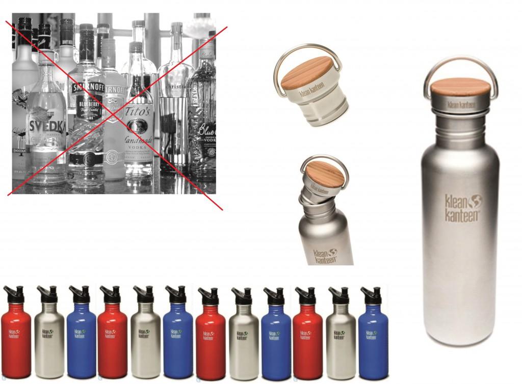 Железная бутылка Kleen kanteen