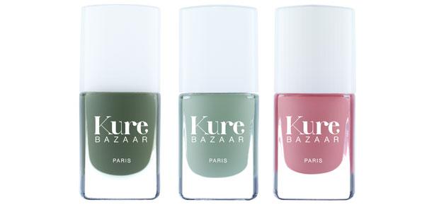 био лаки для ногтей Kure Bazaar