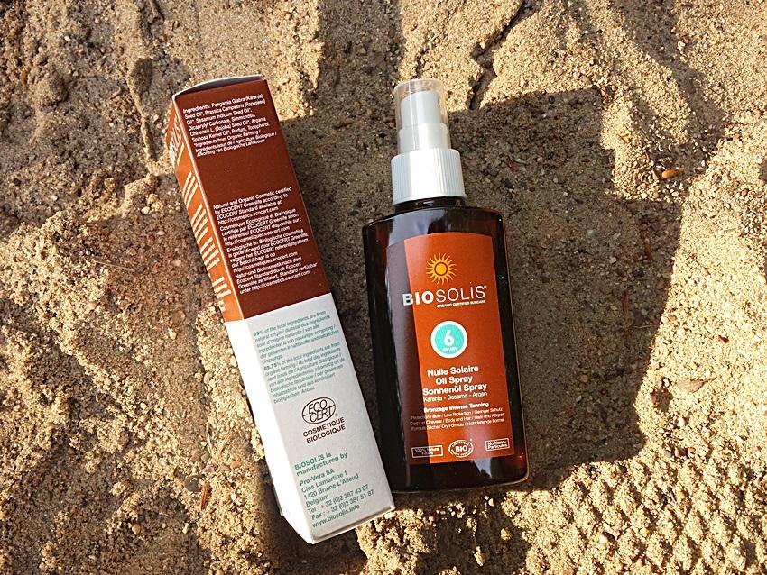 Солнцезащитное масло для лица и тела Bisolis (SPF 6)