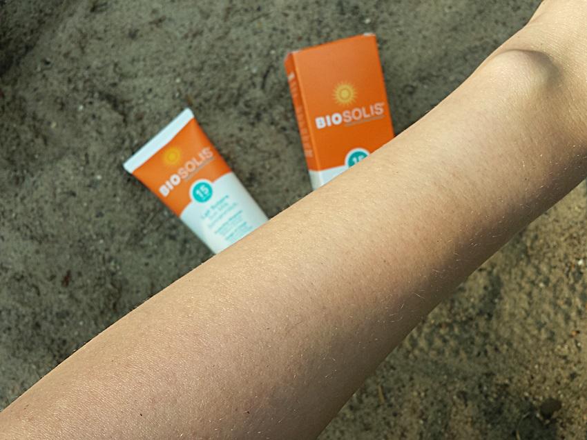 Солнцезащитное молочко для всей семьи Biosolis (SPF 15)