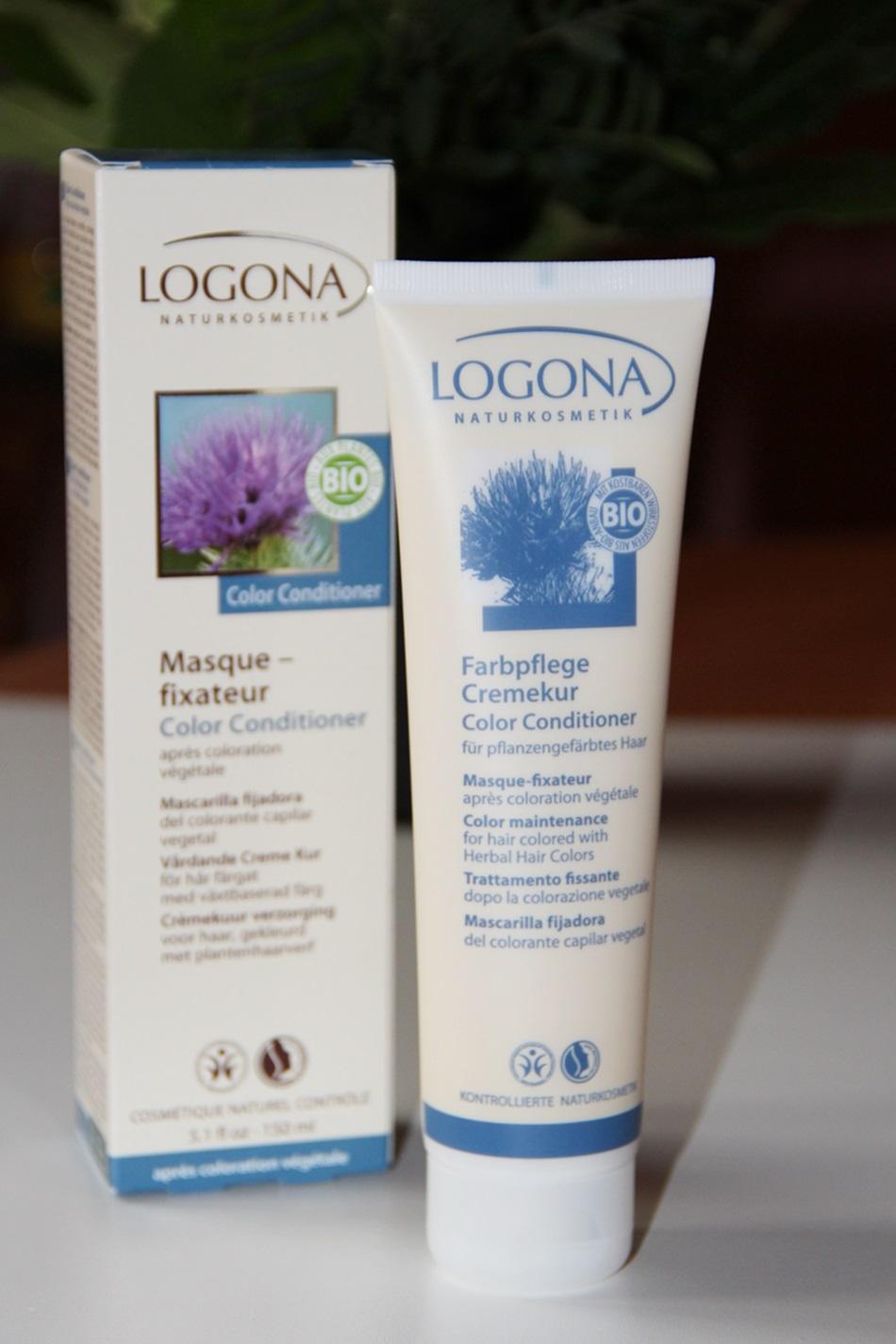Натуральная краска для волос Logona
