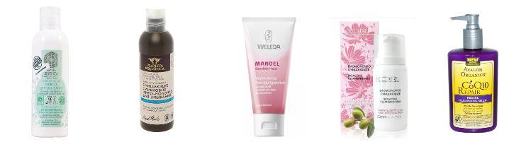 Очищающее средство для сухой кожи