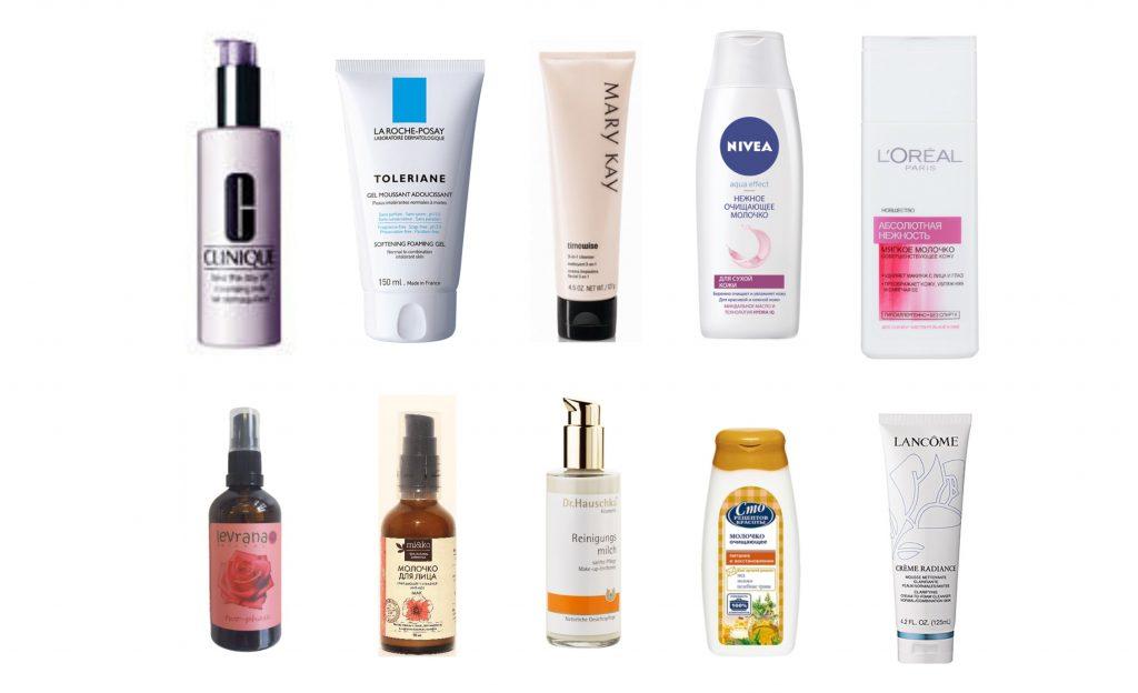 Очищающие средства для сухой кожи – рейтинг