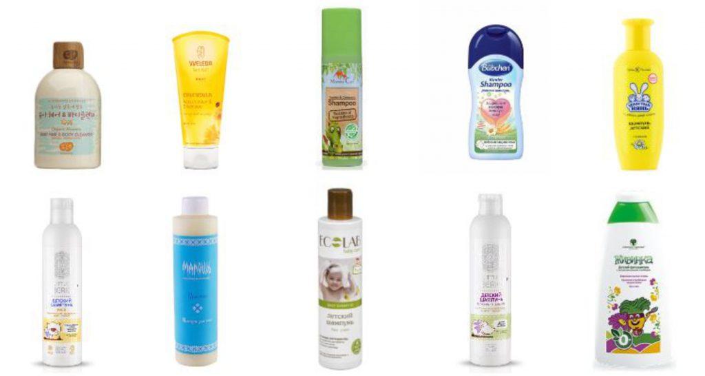 ЭкоТест детских шампуней и средств для ванны