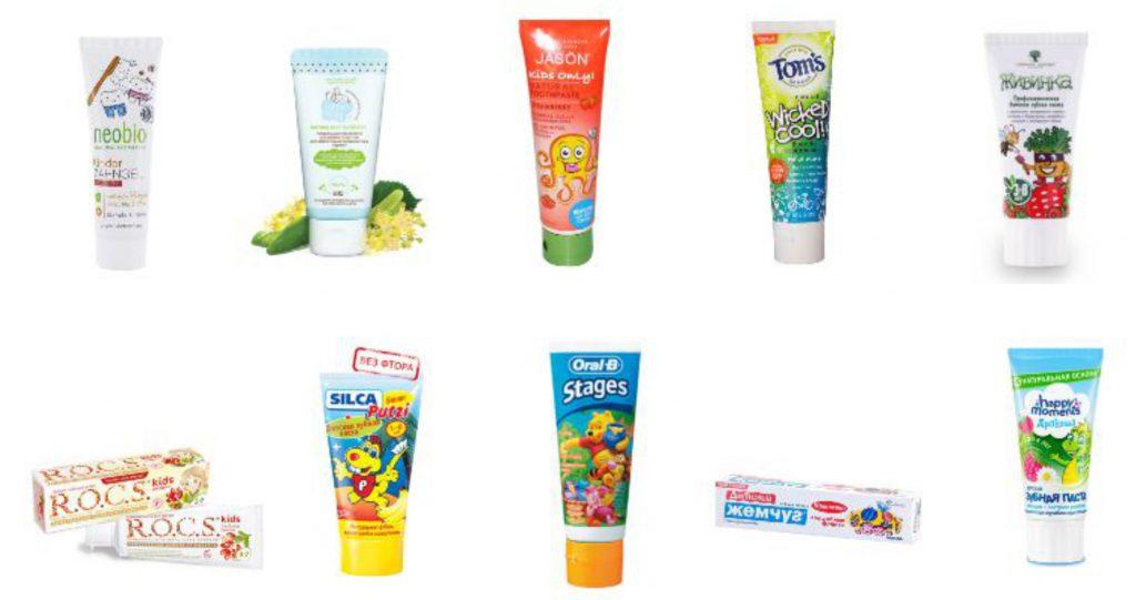 Детская зубная паста — ЭкоТест
