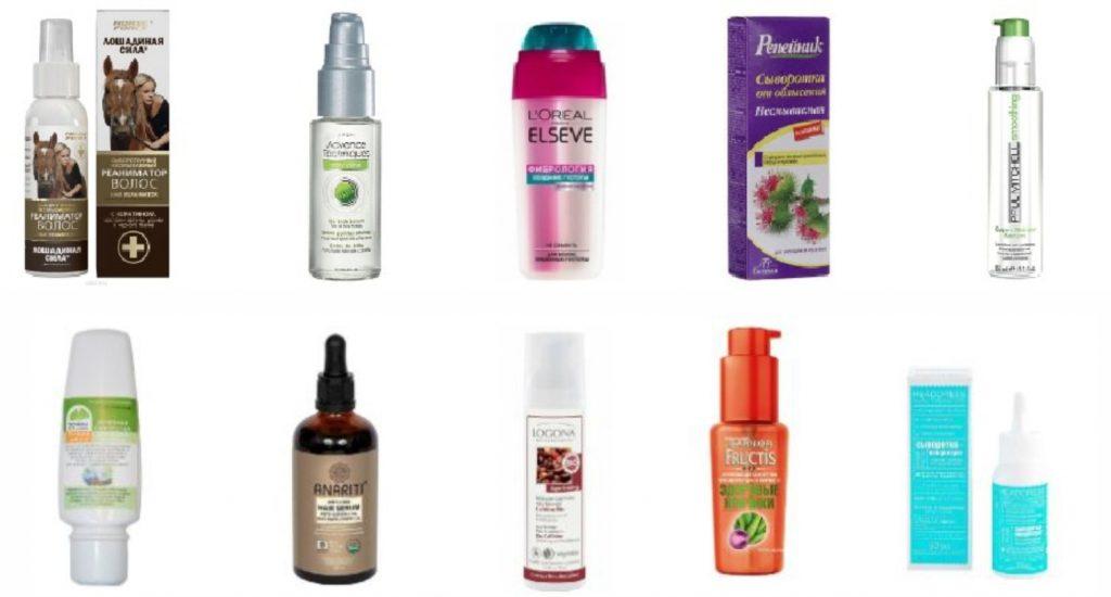 Сыворотки для волос и кожи головы – ЭкоТест