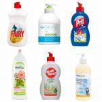 Средства для мытья посуды – ЭкоТест