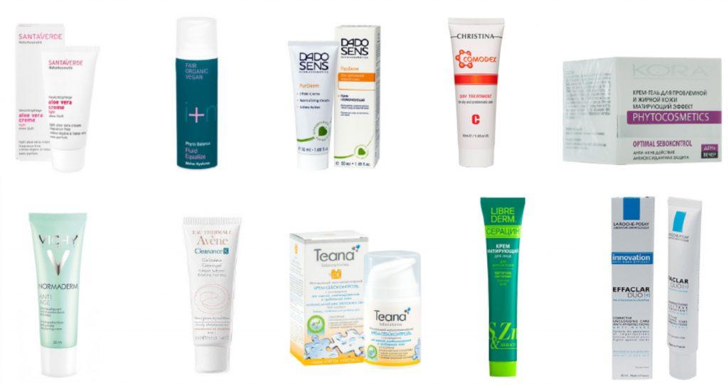 Кремы для жирной кожи лица — ЭкоТест
