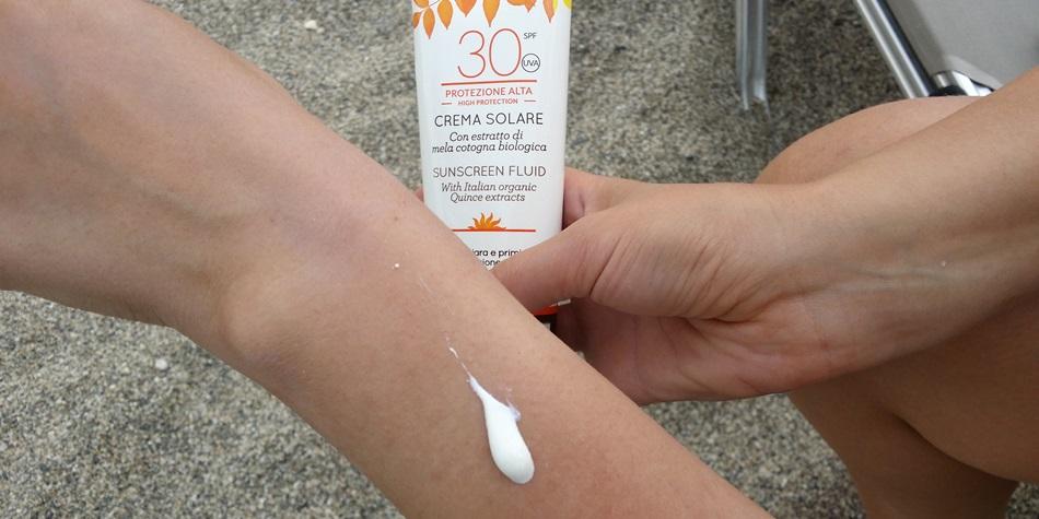 Солнцезащитный крем для тела Officina Naturae