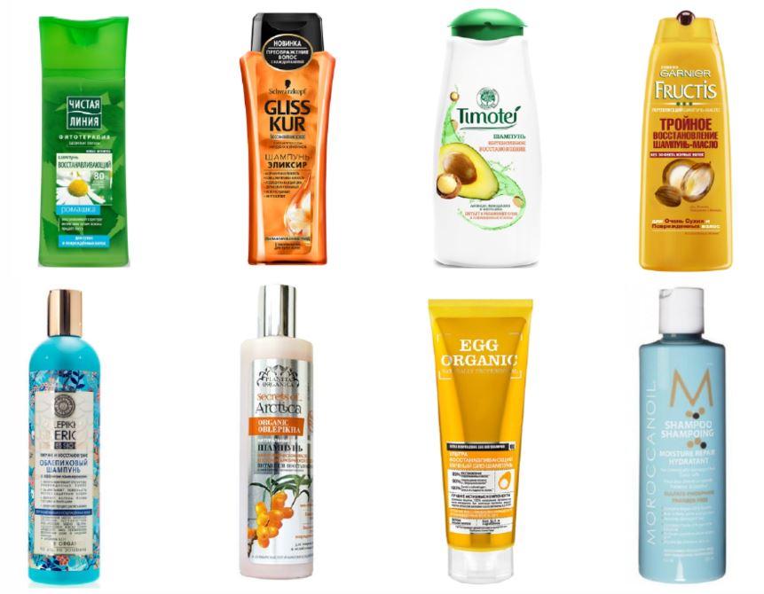 Шампуни для сухих волос – ЭкоТест
