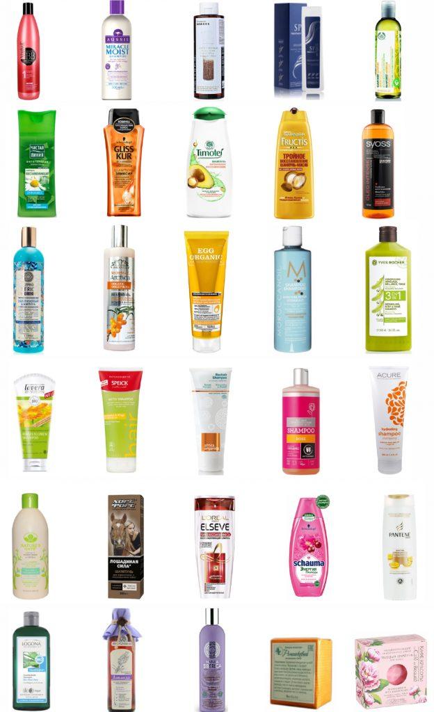 шампуни для сухих волос
