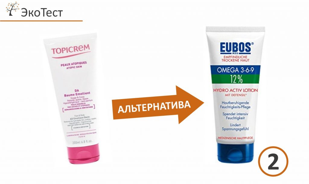 Крем при атопическом дерматите - АЛЬТЕРНАТИВЫ, ЭкоТест