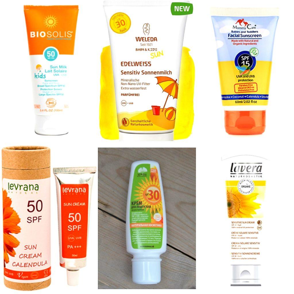 Отдых с детьми и натуральные детские солнцезащитные средства